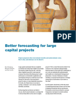 Better Forecasting for Large Capital Projects