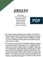 Presentación ENSAYO