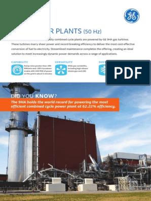 9ha-power-plants pdf   Gas Turbine   Natural Gas