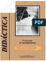 Profesorado de Matematicas