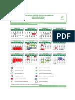 Calendario Ciclo Esc 2016-2017