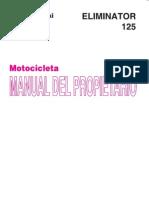 Manual Eliminator 125