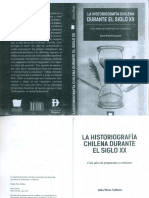La Historiografía Chilena en el siglo XX