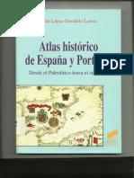Atlas Historico España y Portugal Lopez Davalillo