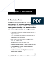 TOEFL Punctuation