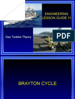Lesson 11 Gas Turbine Theory