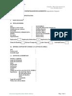 Formato - Informe de Accidente Incapacitante (Ds-024-2016-Em)