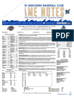 8.23.17 vs. MOB Game Notes
