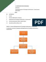 Informe Inventario Infraestructura Tecnologica