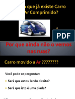 Carro Movido a Ar