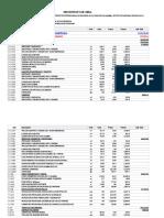 Presupuesto de Obra de Un Terminal Terrestre