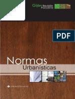 Normas urbanísticas Gijon