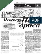 Lectura 2 Los Origenes de La Luz
