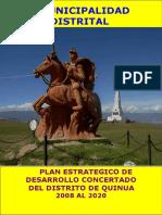 Plan Estrategico Desarrollo Quinua