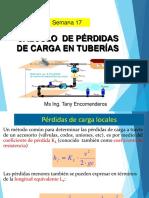 Semana 17_Cálculo de pérd de carga en tuberías.ppt