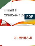 3.1 Minerales