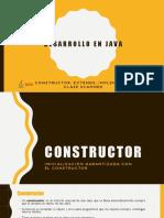 Constructor, Metodos y Clase Scane