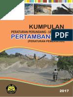 cover peraturan tambang peraturan pEMERINTAH OK.pdf