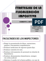 Humbert Bertazza - Estrategia Fiscalizacion Impositiva CRONISTA COMERCIAL