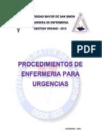 PROCEDIMIENTOS 4to UMSS
