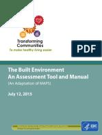 CDC Built Environment Assess
