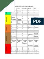 math curriculum planning guide 2