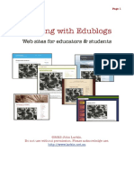 Edublogs Blog
