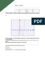 quadratic graphs