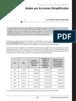 Sociedades Acciones Simplificadas Cpc Danie Fuentes CF Julio 2016