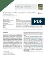 Antioxidant Property of SiO2-Eu - Haiying Cui