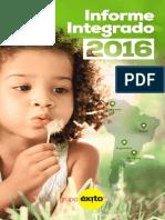 Informe Integrado y EEFF Con Notas Grupo Exito 2016