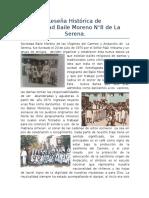Historia de Sociedad Baile Moreno