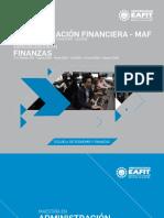 folleto  especializacion finanzas