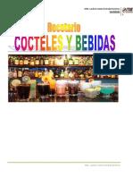 recetario cocteleria