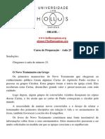 2 - utf-8''Preparacao - Aula 23.pdf