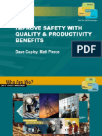 An Integrated Approach to Delivering Quality Safety and Productivity