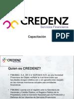 Capacitacion Credenz & MASHUP