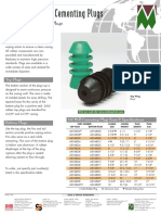 OilWell Reg Cement Plugs
