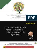 Clase 4 - Identificación y Evaluación de Ideas de Solución
