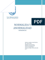 Anormalidad y Normalidad