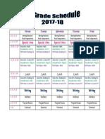 trailblazer team schedule