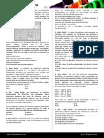 Tabela Peric3b3dica Formatada Blog