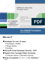 OWASPAppSec2007Milan_SoftwareSecurity