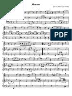 Bach Menuet