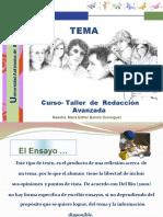 El_ensayo_-curso Propedeutico Ortografa y Redacción