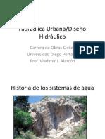 Introduccion y Datos Basicos de Diseno Hidraulica Urbana
