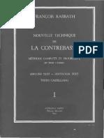 Francois Rabbath - Nouvelle Technique de la Contrebasse Vol. 1.pdf