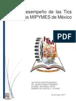 El Desempeño de Las Tics en Las MiPYMES de México; Raí Pérez López