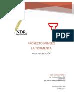 Plan de Ejecucion Proyecto La Tormenta Final