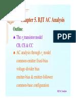 Bjt Ac Analysis
